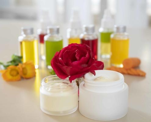 Essbare Hautpflege